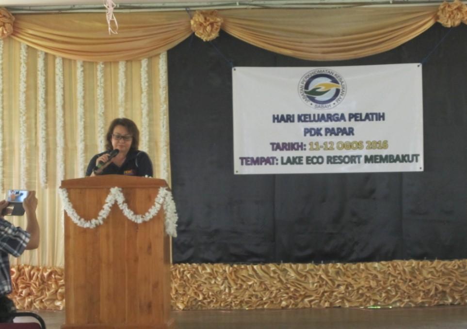 Hari Keluarga Pelatih PDK Di Lake Eco Resort Membakut